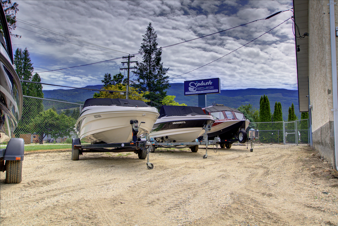 Sicamous Boat Storage